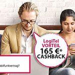 Telekom DSL Tarife + Festnetz-Flat ab 8€ mtl. (dank 165€ Cashback)
