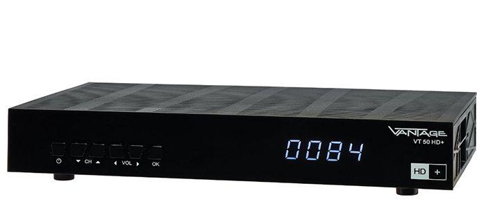 Preisfehler? Vantage VT 50 Sat Receiver + 12 Monate HD+ für 55€ (statt 85€)