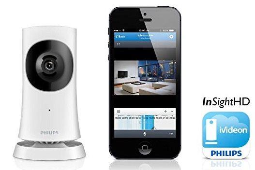 Philips InSight HD Heimkamera für 55,90€ (statt 124€)