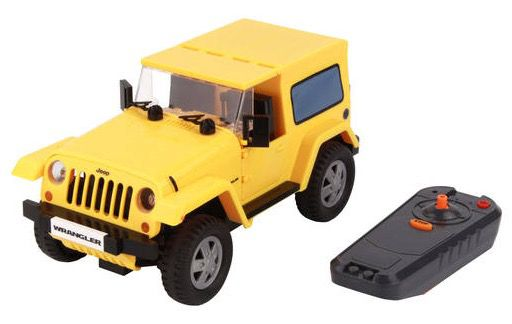 Cobi Jeep Wrangler RC Auto mit Infrarot Fernbedienung für 9,95€(statt 33€)