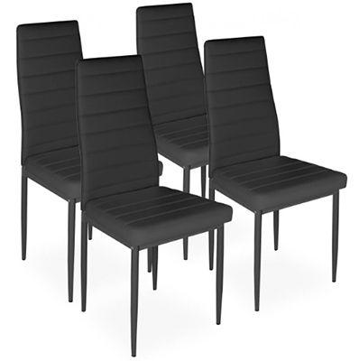 4er Set Esszimmerstühle in versch. Farben für 50,92€