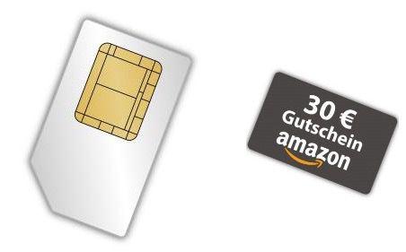 klarmobil Allnet Flat (Vodafone) + 2GB für 9,85€mtl. + 30€ Amazon.de Gutschein