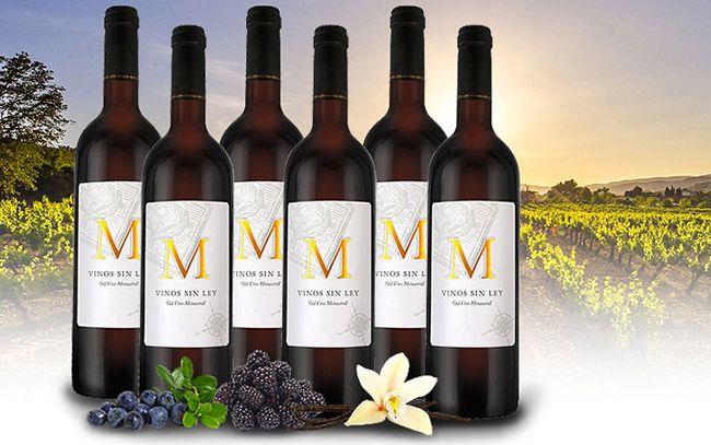 6 Flaschen Vinos Sin Ley M Monastrell Rotwein für 39,99€