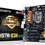 Gigabyte GA-H97M-D3H mATX Mainboard Sockel 1150 für 66,98€ (statt 79€)