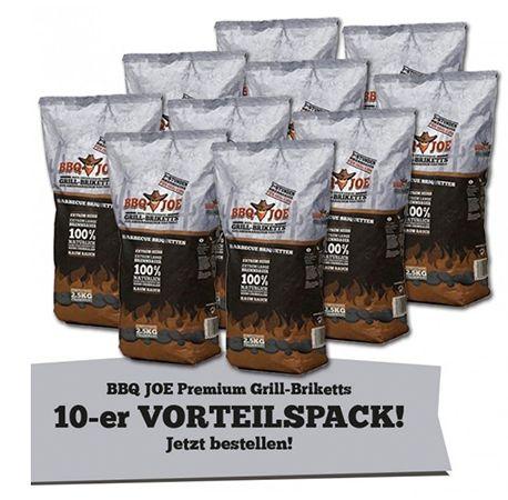BBQ JOE: 25kg Best American Hartholz Briketts für 24,99€ (statt 40€)