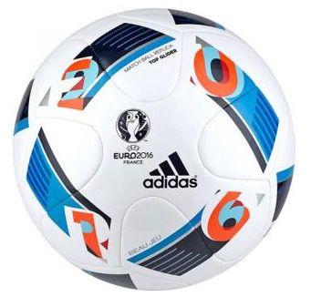 adidas UEFA Euro 2016 Top Glider Fußball für 12,99€ (statt 18€)