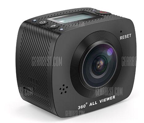 Elecam 360° Kamera mit WLAN + 32GB Speicherkarte für 117€
