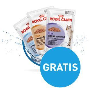 3 Beutel ROYAL CANIN Katzenfeuchtnahrung im Frischebeutel kostenlos