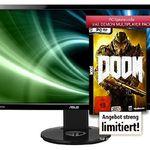 Asus VG248QE – 24 Zoll Gaming Monitor für 239€ + Doom (PC) gratis