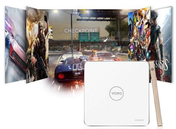 VOYO V3 Mini PC + Windows 10 für 165€