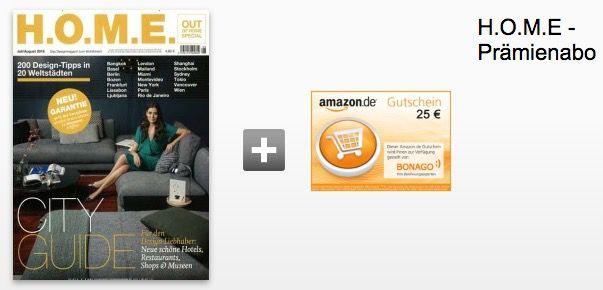 Bildschirmfoto 2016 08 09 um 14.25.01 H.O.M.E. Jahresabo für effektiv 15€ dank Gutscheinprämie