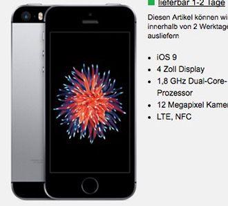 Otelo Allnet Flat XL (Vodafone) mit 4GB + iPhone SE für 1€ Galaxy S7 Edge ab 49€ für 35€ mtl.