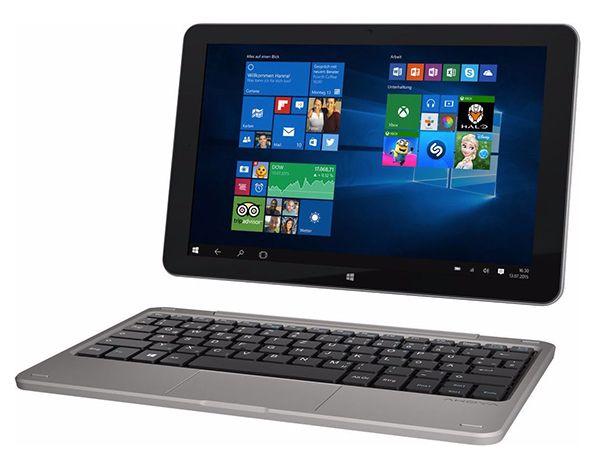 Medion Akoya E1235T   10 Zoll Touch Notebook + Win 10 für 194€ (statt 229€)