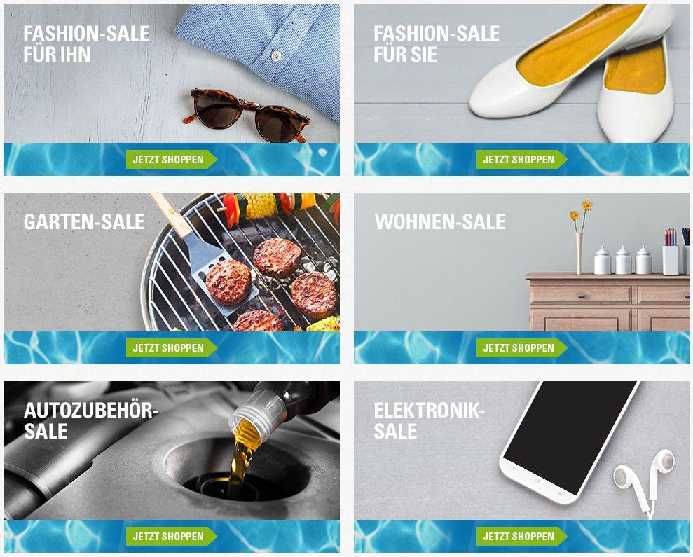 SOMMER SALE bei eBay! Jetzt bis zu  70% auf Handys, Tablets, Grills, Kleidung ...uvm. TOP!