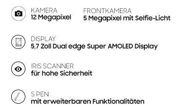 Bildschirmfoto 2016 08 11 um 08.31.07 Samsung Galaxy Note 7 für 49€ (statt 849€) + VR Brille + Vodafone Allnet Flat mit 2GB LTE für 39,99€ mtl.