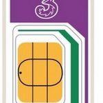 3 PAYG 4G Trio Data SIM Packet LTE SIM-Karte fürs Ausland inkl. 12 GB Datenvolumen für 25€