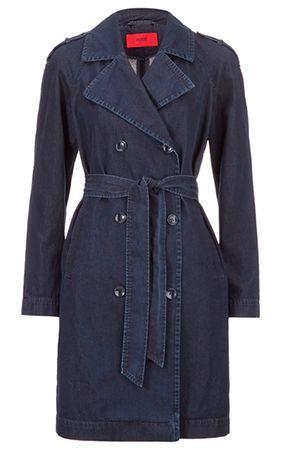 Hugo Damen Jeanstrenchcoat Mintu für 130,25€(statt 190€)