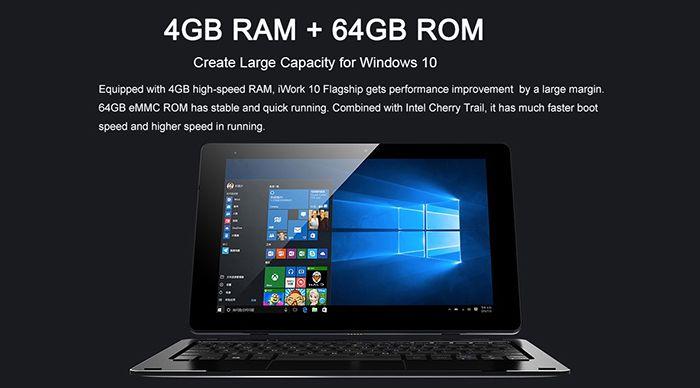 Bildschirmfoto 2016 08 12 um 08.53.45 Cube iWork 10   10 Zoll Full HD Tablet mit 64GB + Win 10 für 122€
