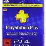 PlayStation Plus Live Card (365 Tage) für 40€(statt 45€)