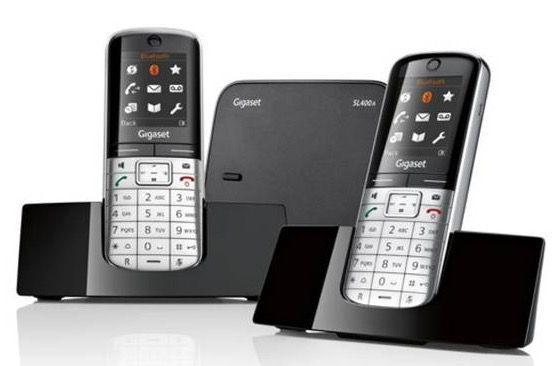 Gigaset SL400A Duo Schnurlos Festnetz Telefon mit AB für 129€ (statt 160€)