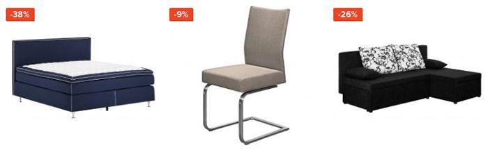 Lagerräumung bei Home24 mit bis 40% + 10% Extra   z.B. 5 teiliges Lounge Set 300€