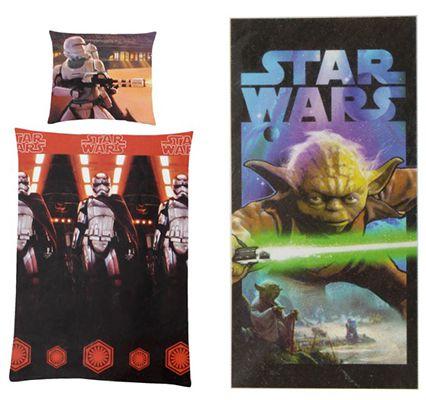 Bildschirmfoto 2016 08 12 um 13.08.49 Star Wars Bettwäsche, Matratze oder Handtuch je 19€