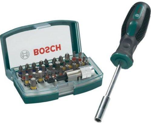 Bildschirmfoto 2016 08 15 um 08.01.54 Bosch 32 teiliges Schrauberbit Set + Schraubendreher für 9,99€ (statt 24€)