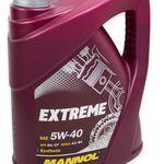 4 Liter Mannol Extreme HC-Synthese 5W-40 Motoröl für 11,95€ (statt 17€)