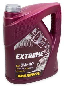 5 Liter Mannol Extreme HC Synthese 5W 40 Motoröl für 14,99€ (statt 19€)