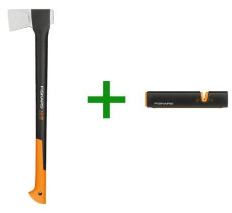 Fiskars X21 L Spaltaxt + Messerschärfer für 44,99€ (statt 61€)
