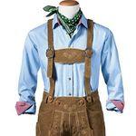 Gweih & Silk Herren Trachten-Set (Lederhose, Hemd & Tuch) für 189€