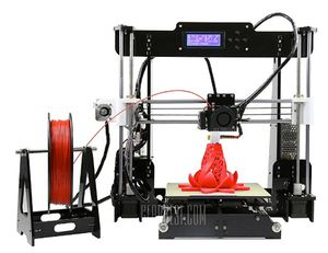 Anet A8 Desktop 3D Drucker für 114,53€   aus EU Warenlager