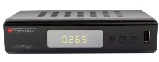 Opticum AX Terra HD DVB T2 Receiver + Antenne für 39€ (statt 60€)
