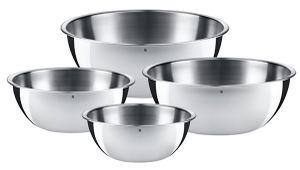 WMF Gourmet Cromargan Küchenschüsseln 4 teilig für 29,95€