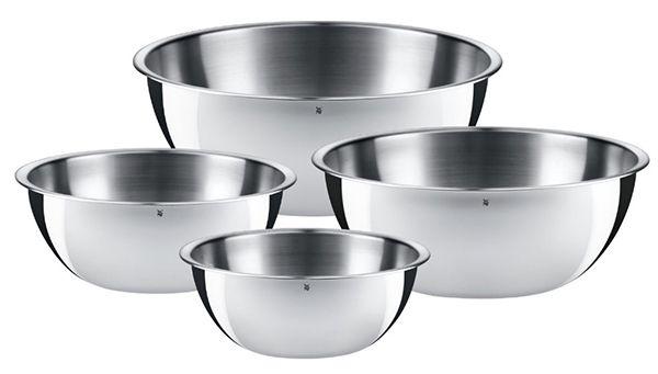WMF Gourmet Cromargan Küchenschüsseln 4 teilig für 35,90€ (statt 45€)