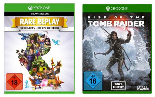 Günstige Xbox One Games bei Redcoon   z.B. Rise of the Tomb Raider für 20€ (statt 34€)