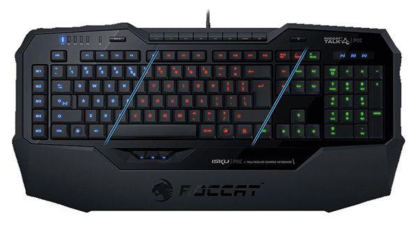 Roccat Isku FX Multicolor Gaming Tastatur für 54,99€ (statt 98€)
