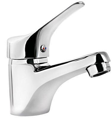 Einhebel Wasserhahn + Anschlussmaterial für 14,90€