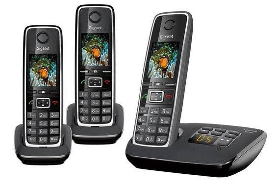 Gigaset C530A Trio DECT Festnetztelefon 79,95€(statt 100€)