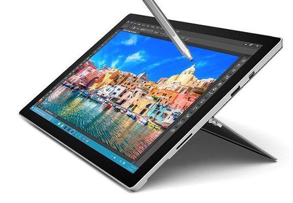 Microsoft Surface Pro 4   256GB Tablet für 1.299€ (statt 1.486€)