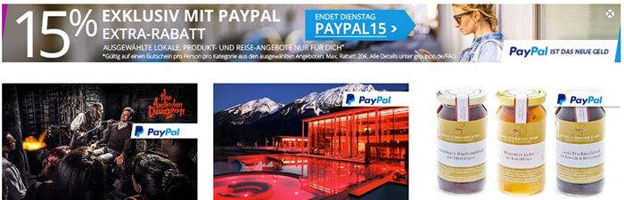 Bildschirmfoto 2016 08 22 um 11.21.32 15% Rabatt via Paypal bei Groupon   z.B. Elektrokart fahren ab 13€