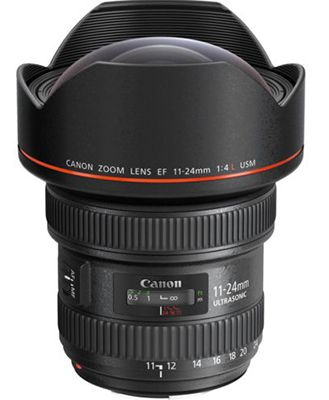 Canon EF 11 24mm f/4 L USM Weitwinkelobjektiv für 2.299€(statt 2.949€)