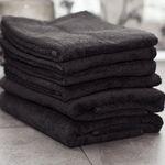 6er Set Dusch-/Handtücher aus 100% Baumwolle für 29,90€