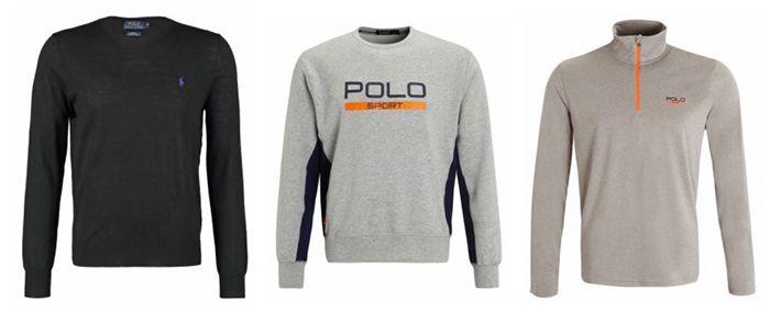 Ralph Lauren Sale + VSK frei   z.B. Polos ab 33€ oder Pullover ab 35€