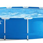 Ausverkauft! Intex Metal Frame Pool Set 457 x 84cm + Filterpumpe für 97€ (statt 300€)