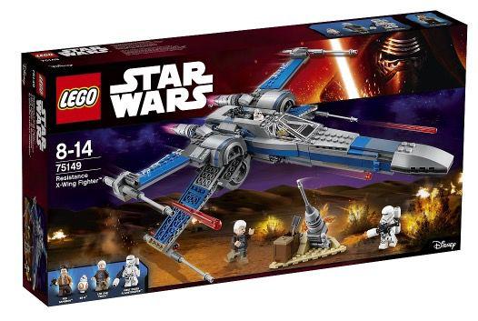 Lego Star Wars Resistance X Wing Fighter für 59,98€ (statt 73€)