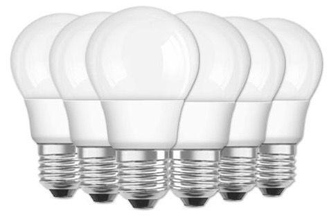 6er Pack Osram LED STAR A40 MATT E27 5W für 13,99€ (statt 23€)