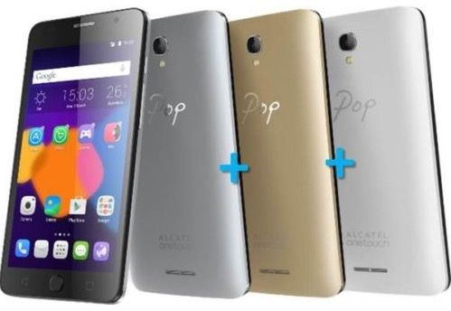 Alcatel POP Star 5022D   5 Zoll Dual Sim Smartphone + 2 Wechselcover für 55€(statt 90€)