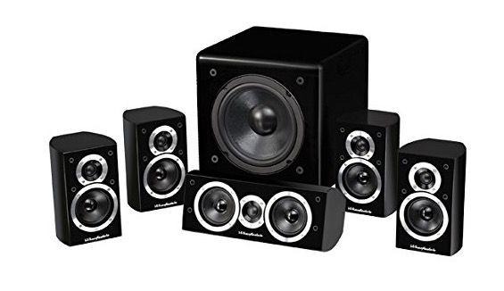 Wharfedale Moviestar DX 1   5.1 Heimkino System für 358,90€(statt 489€)