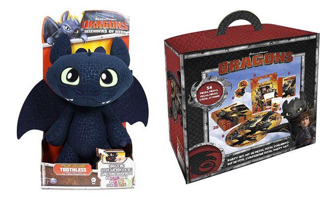 20% auf Dragons Artikel   z.B. Plüschfigur Ohnezahn ab 16€